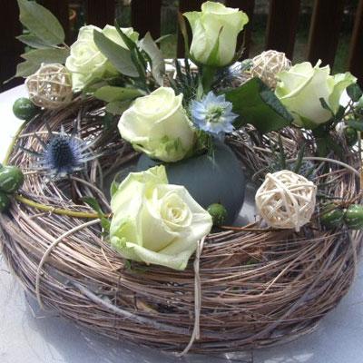 D coration florale v nementielle des fleurs plein la t te for Decoration florale evenementiel